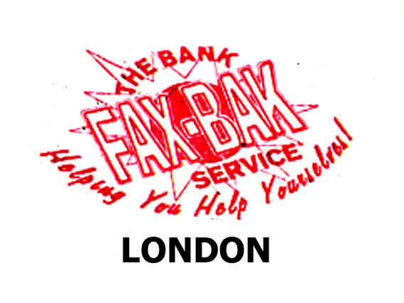 BANK- Faxbak London